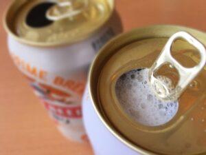 ビールで晩酌